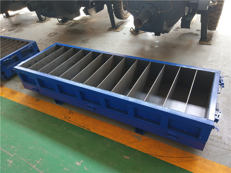 Concrete solid block mold mould