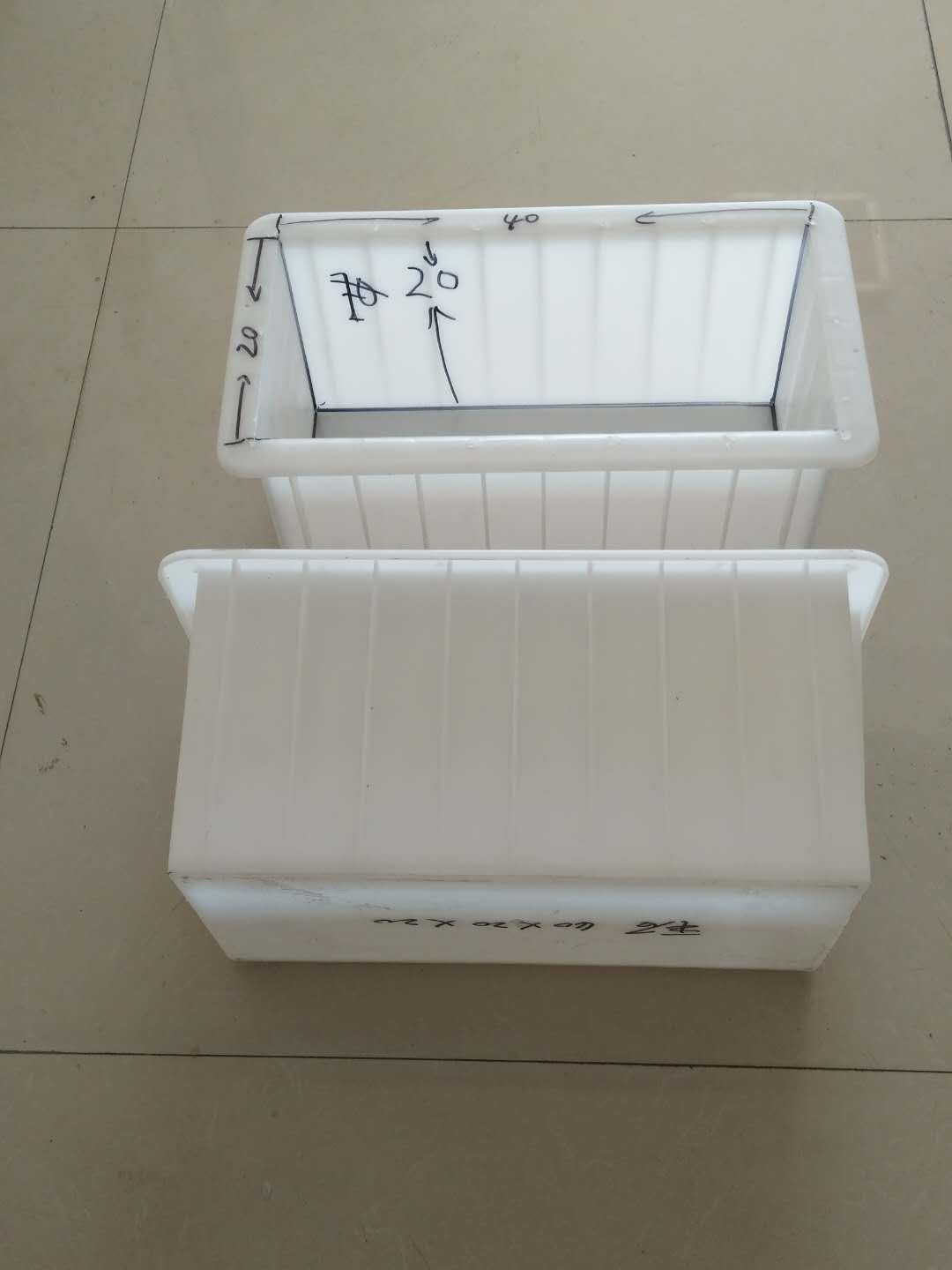 ABS plastic concrete solid block mold