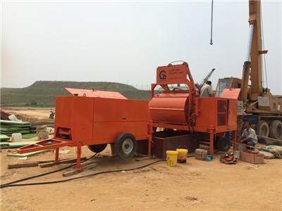 Foam concrete machine for wall casting