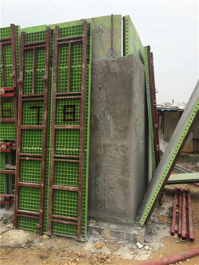 Foam concrete machine for casting wall