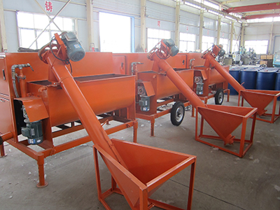 Foam concrete machine for water tank building